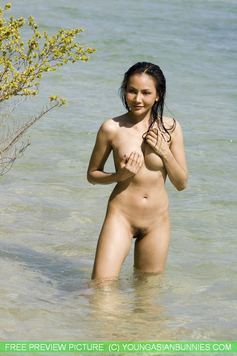 Young nude girls pussy gaping