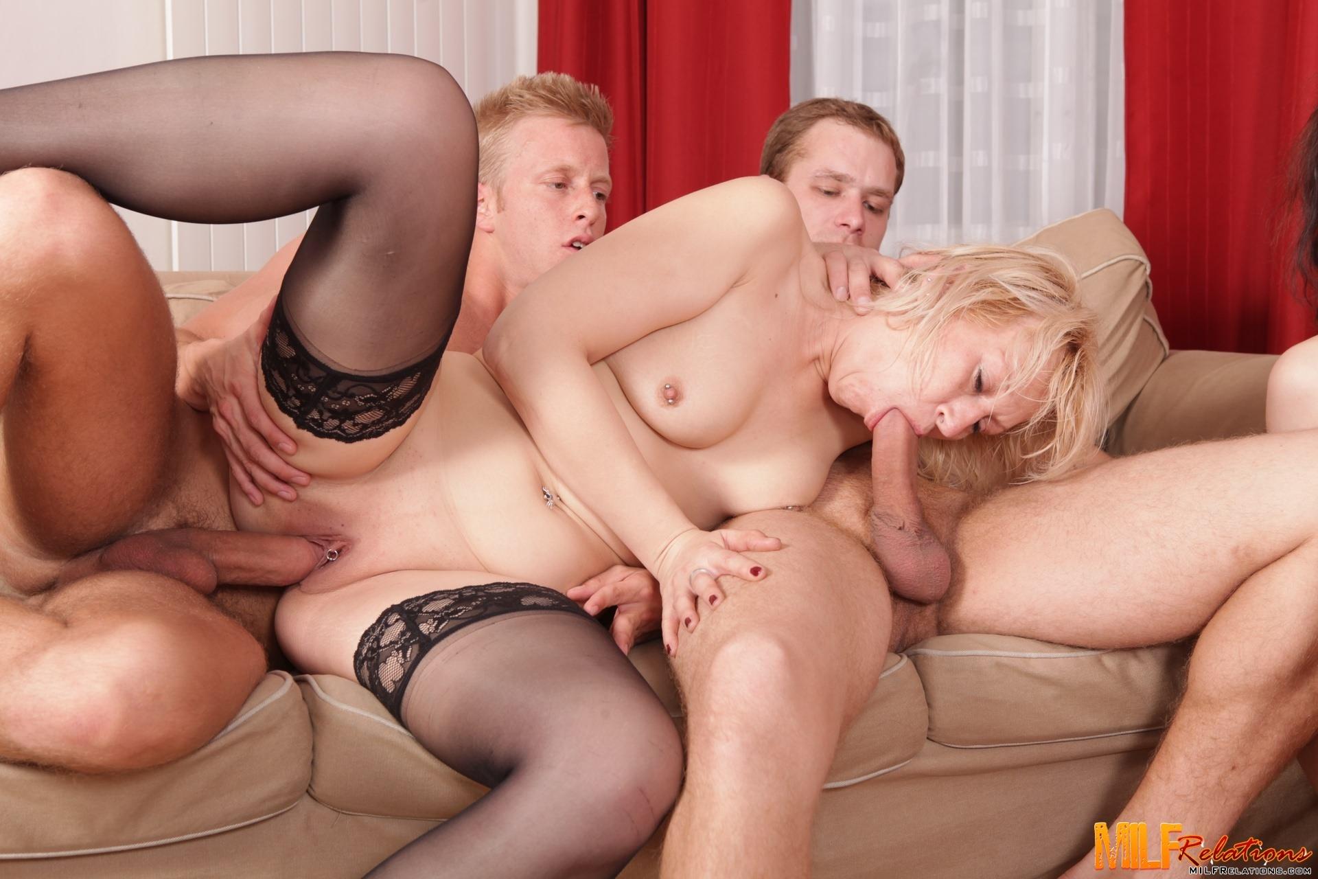 Those mature milf orgy galleries
