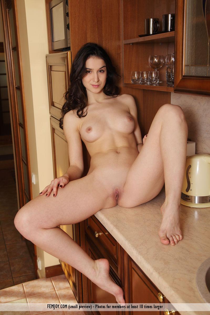 Nude aasialainen tyttö pitkät hiukset-5512
