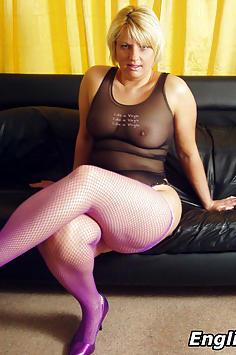Big ass British milf