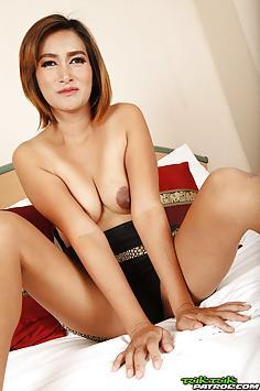 Stunning shy Thai MILF