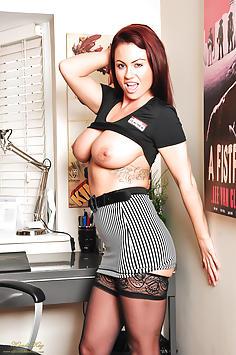 Kandi Kay at the Office