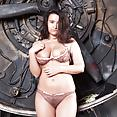 Ramira strips naked in front of propellers 