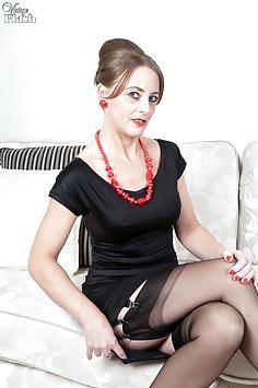 Tricia West - Dress to impress...strip to please!